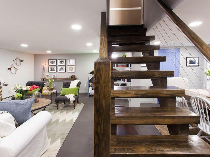 25+ Best Ideas About Open Basement Stairs On Pinterest