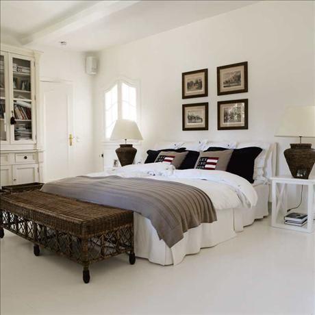 The Bedroom Has Birgitte And Peter Had New England Style Run Wild