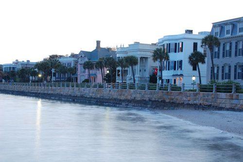 Rainbow Row Charleston South Carolina United States Of