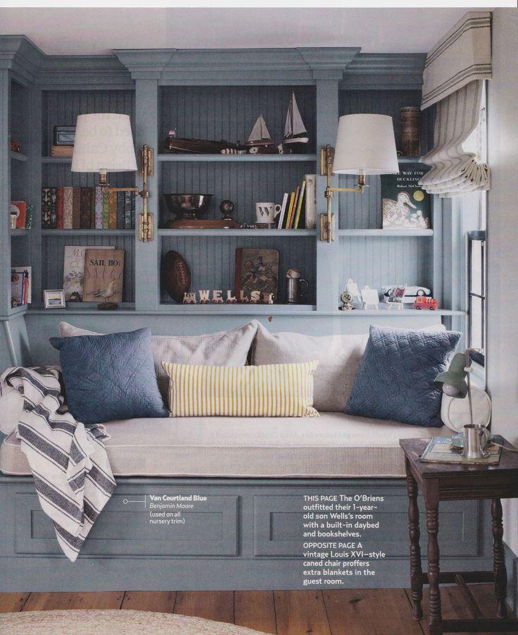 Benjamin Moore Van Courtland Blue For The Home