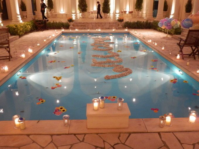 61 Best Images About Swimming Pool Decorations On