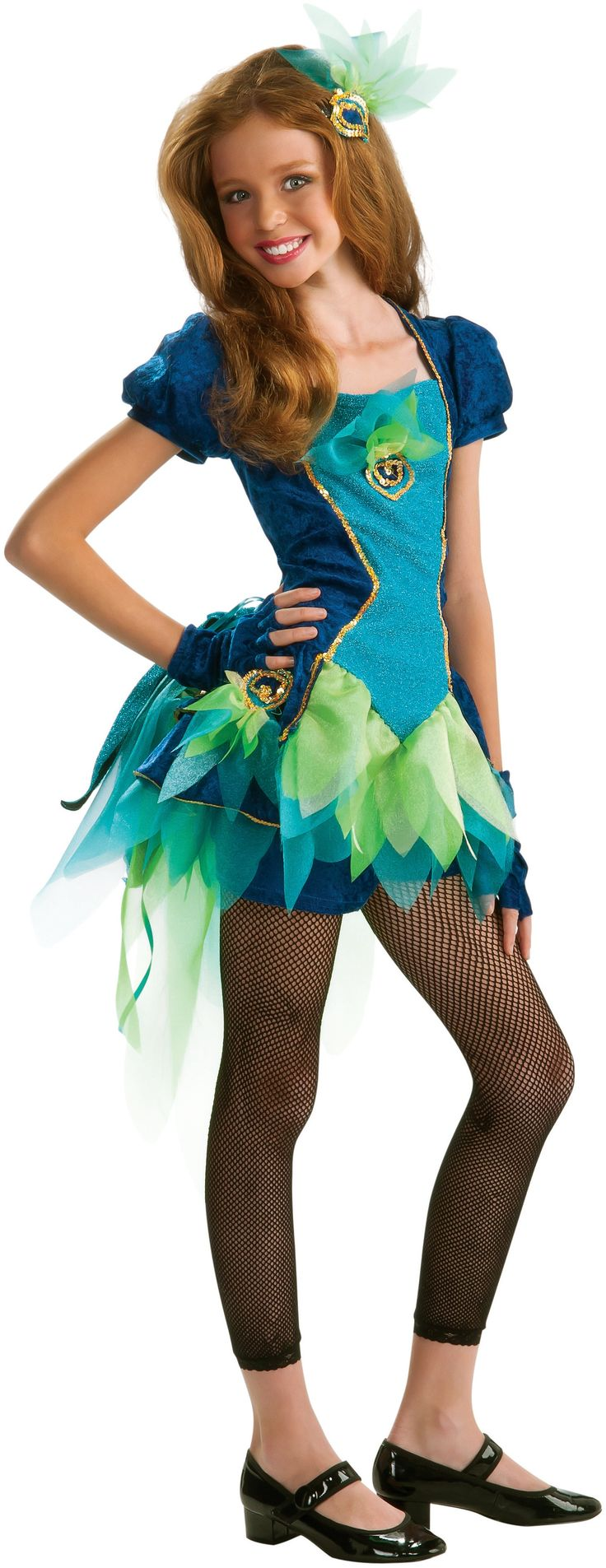 Tween Pretty Peacock Costume Costumes Pinterest