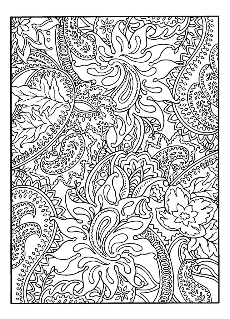 1000 ideas about paisley coloring pages on pinterest adult