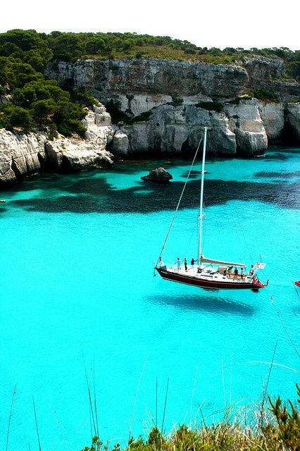 Turquoise Sea, Sardinia, Italy:
