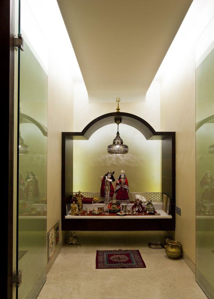 Pooja Room Design By Architect Rajesh Patel Consultants