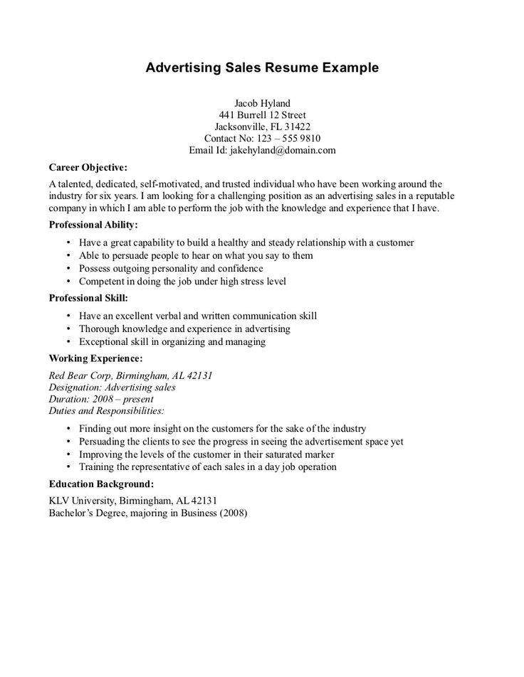 Resume Objective For Marketing. Cover Letter Resume Objective