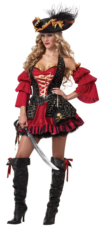 California Costumes Women's Eye Candy Spanish Pirate