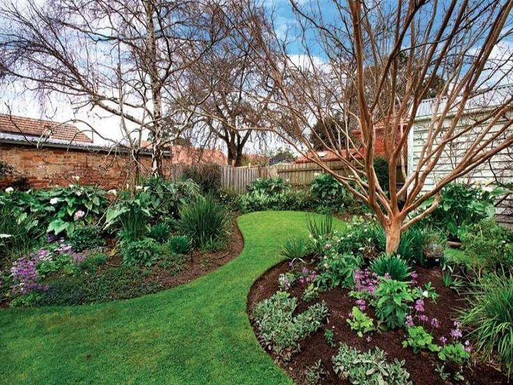 Photo of a australian native garden design from a real