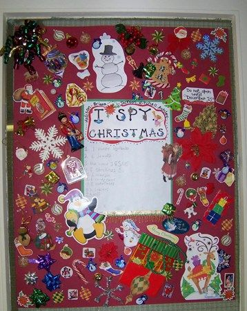 Multi Age Groups Created I Spy Posters To Put Around The