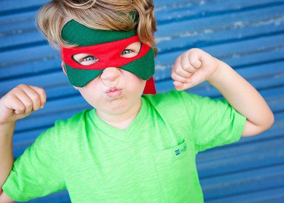 Teenage Mutant Ninja Turtle Mask / Halloween / Dress Up