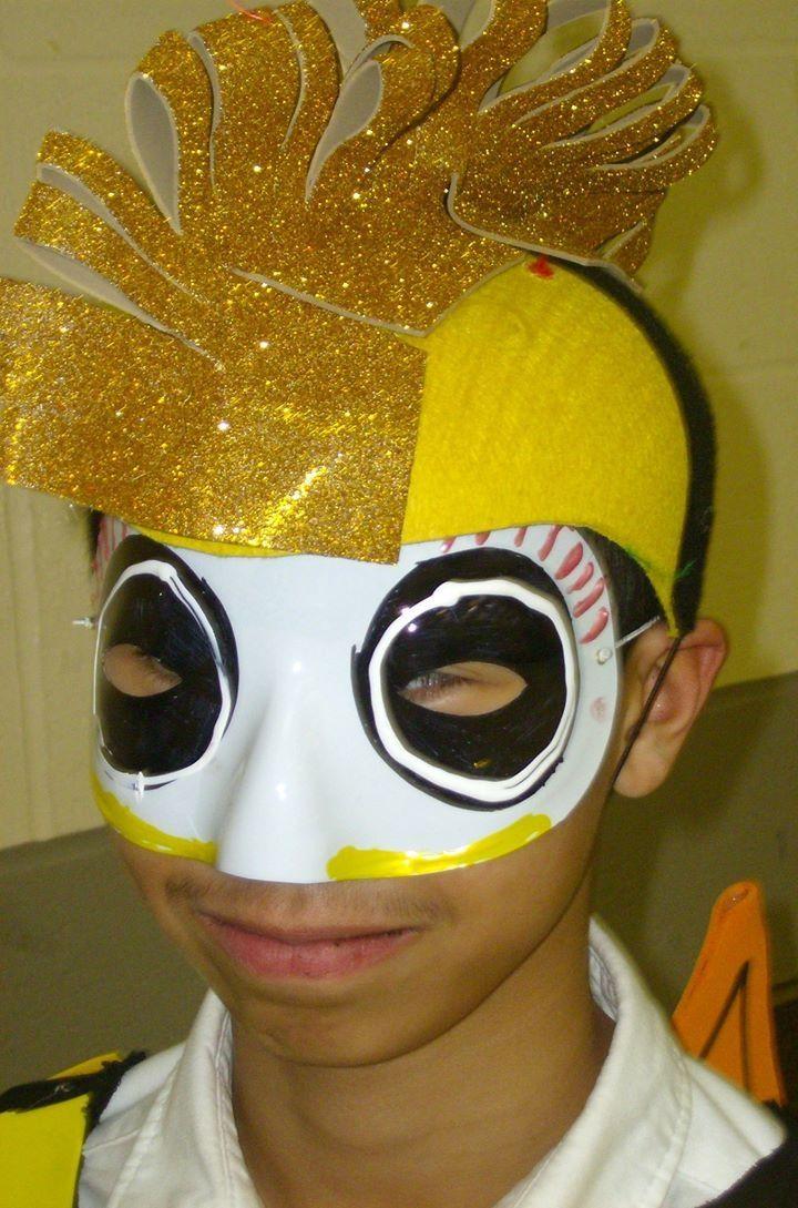 Seahorse costume mask & headpiece Little Mermaid ideas