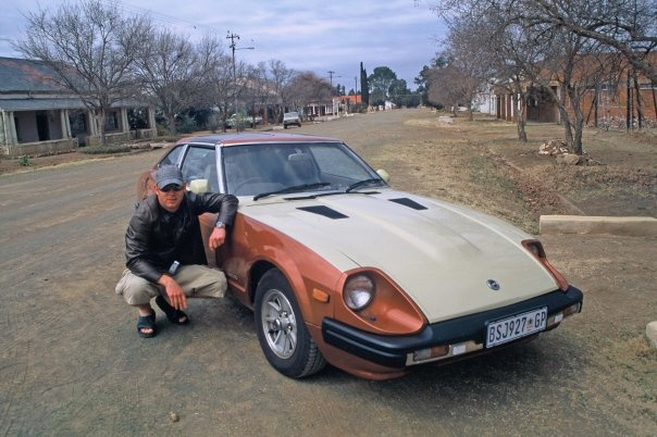 Me and my nearly fully restored 1979 Datsun 280ZX TTop