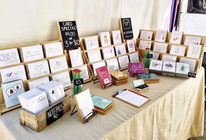 Great Greeting Card Display For Craft Fairs Julie Ann