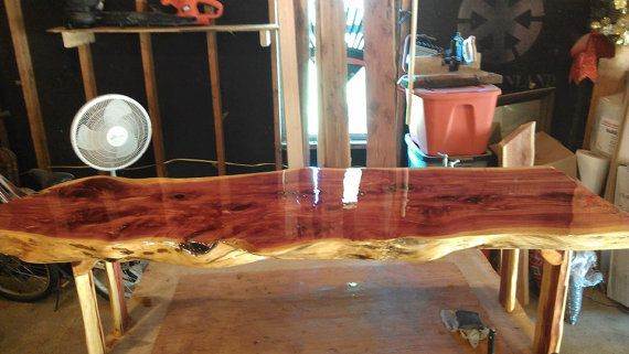 Red Cedar Live Edge Coffee Table By BarroneContracting On