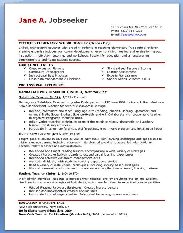 resume hk sample
