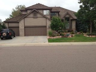 Tan House With Dark Brown Trim For The Home Pinterest