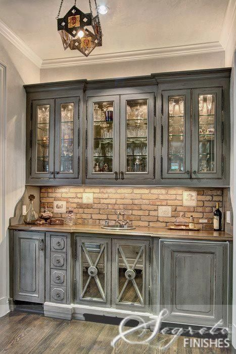 Love The Brick Backsplash Kitchen Reno Pinterest