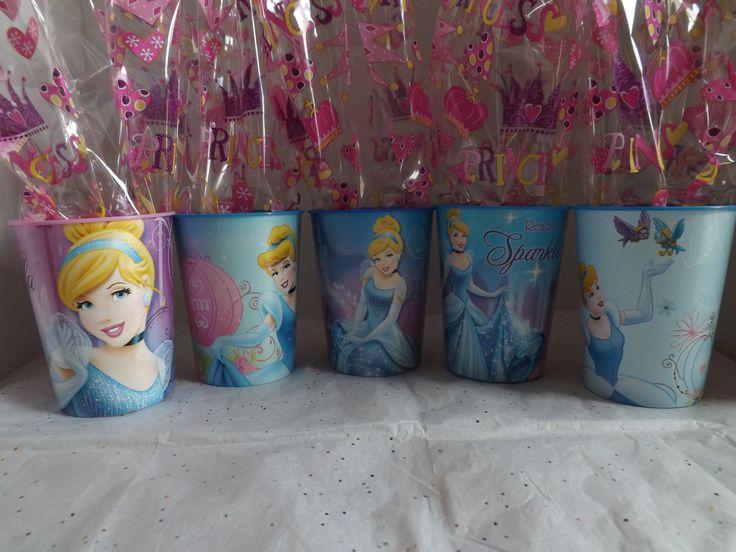 5 Cinderella Party Favors. Idea