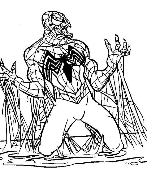 black spiderman spiderman and coloring pages on pinterest