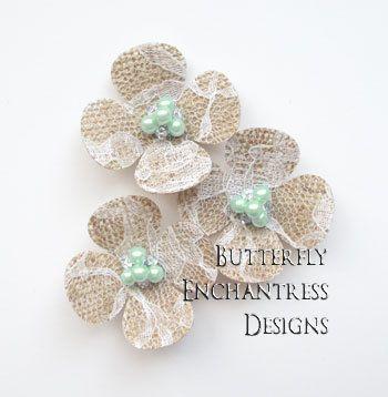 lace burlap wedding flowers rustic hair accessories farm woodland wedding 3 hydrangea flower