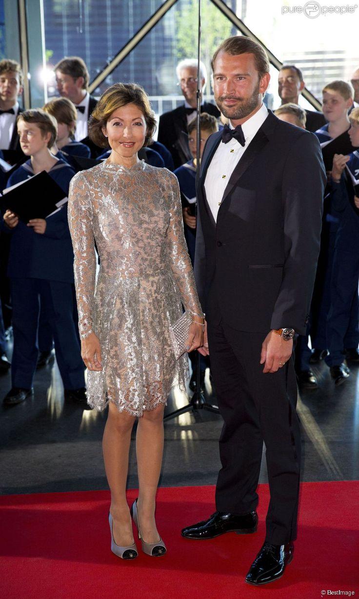 Alexandra Christina Manley et son mari Martin