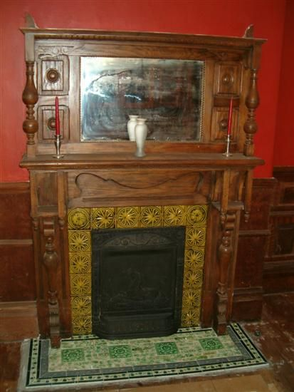 Vintage Fireplace Tile Google Search Fireplace