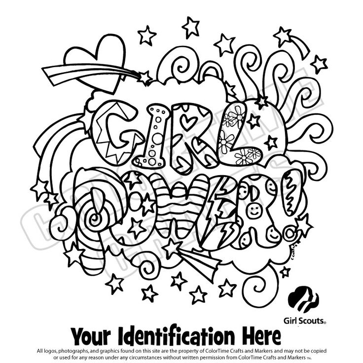 brownie girl scout coloring pages  girl scout logo
