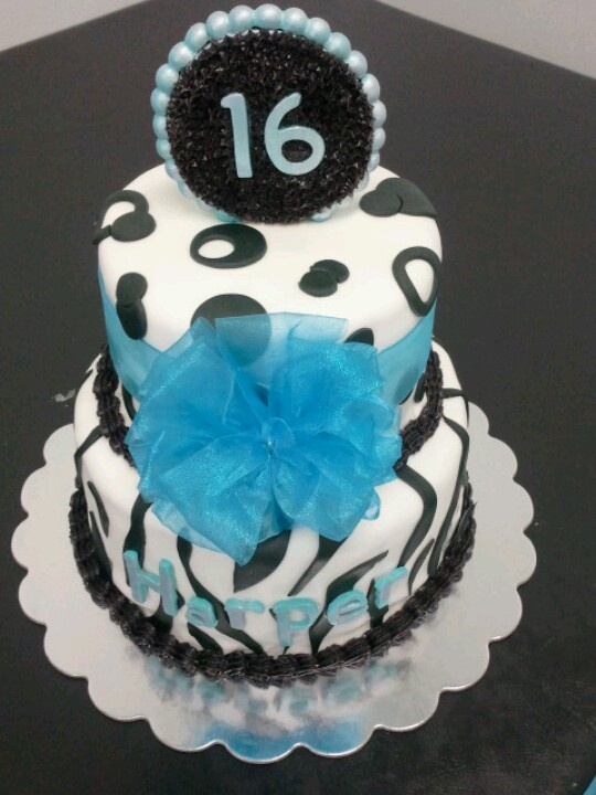 17 Best Images About 16th Birthday Cakes For Girls On