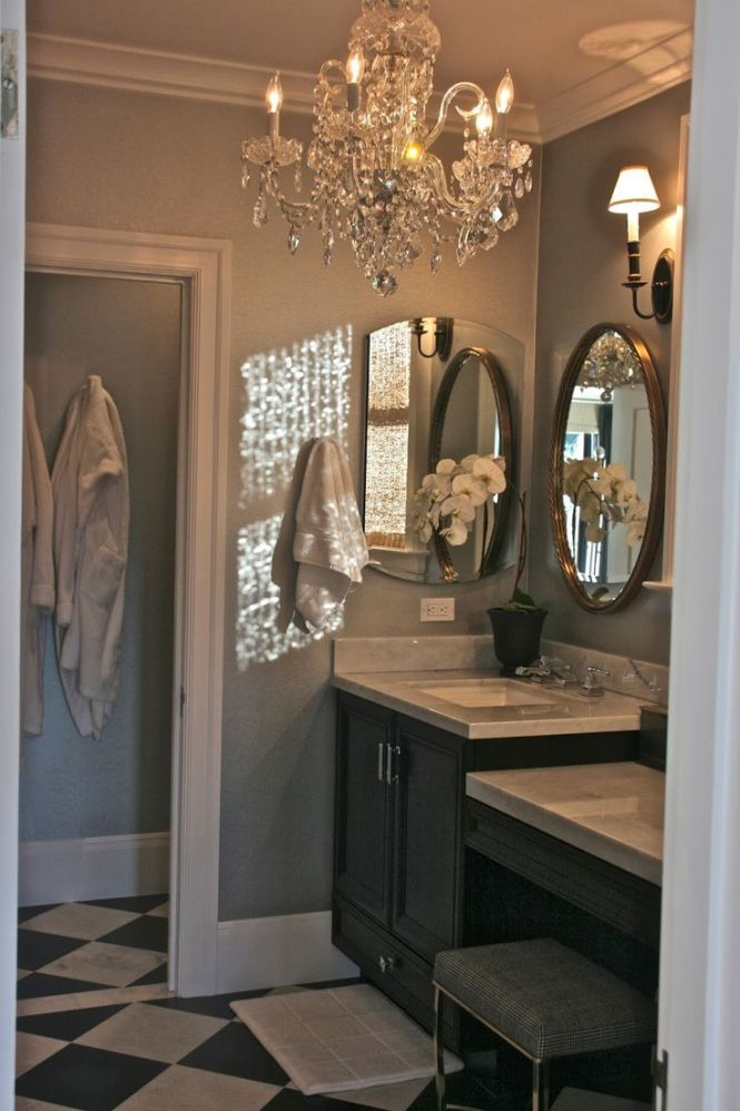 17 Best Ideas About Bathroom Chandelier On Pinterest Master Bath