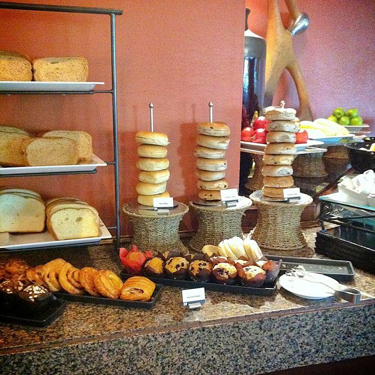 Breakfast buffet, anyone? Continental Breakfast