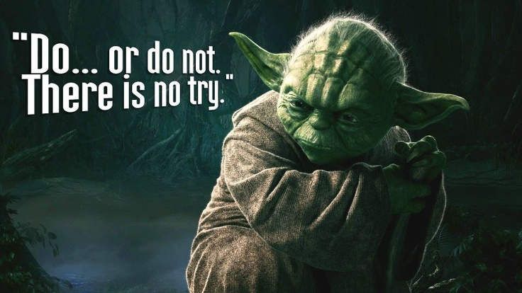 Best learning quote from Master Yada Star Wars