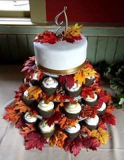 Fall cake and cupcake design ideas for parties, wedding, showers, etc. – The Cultural Dish: Recent Cakes