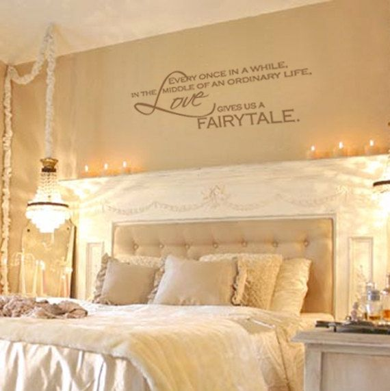 Love Gives Us A Fairytale Vinyl Wall Decal Quote By Fleurishwalls 24 95