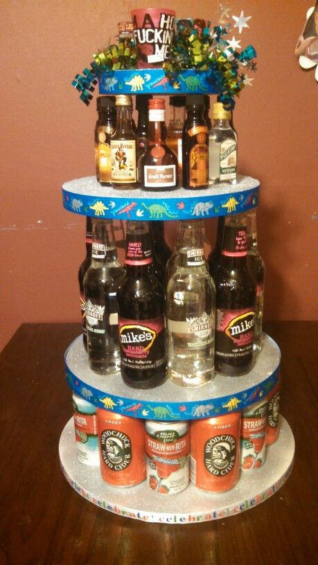 Made My Little Sister This For Her 21st Birthday Alcohol