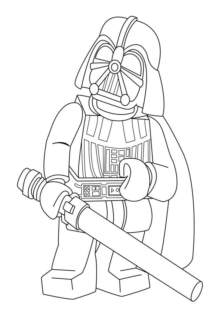 lego star wars coloring pages  tucker's birthday episode