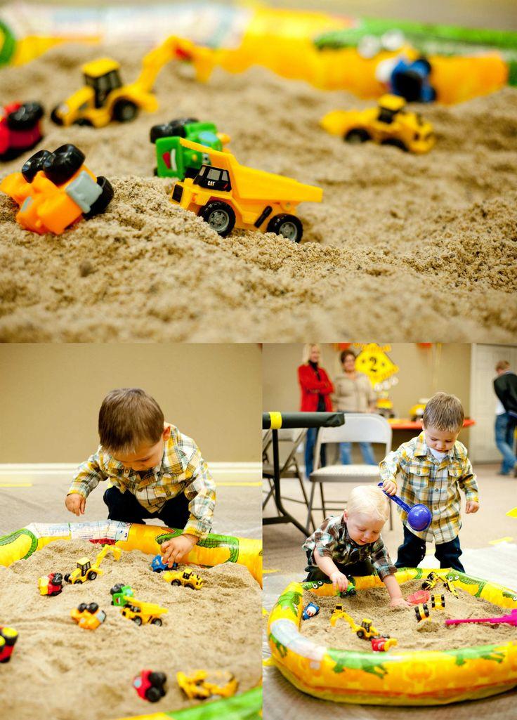 10 Kids Party Activities Birthdays, Sandbox and Construction