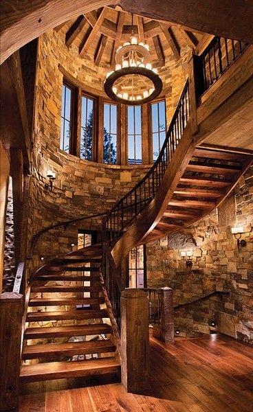 Modern Day Winterfell Interior Design Stone Walls And