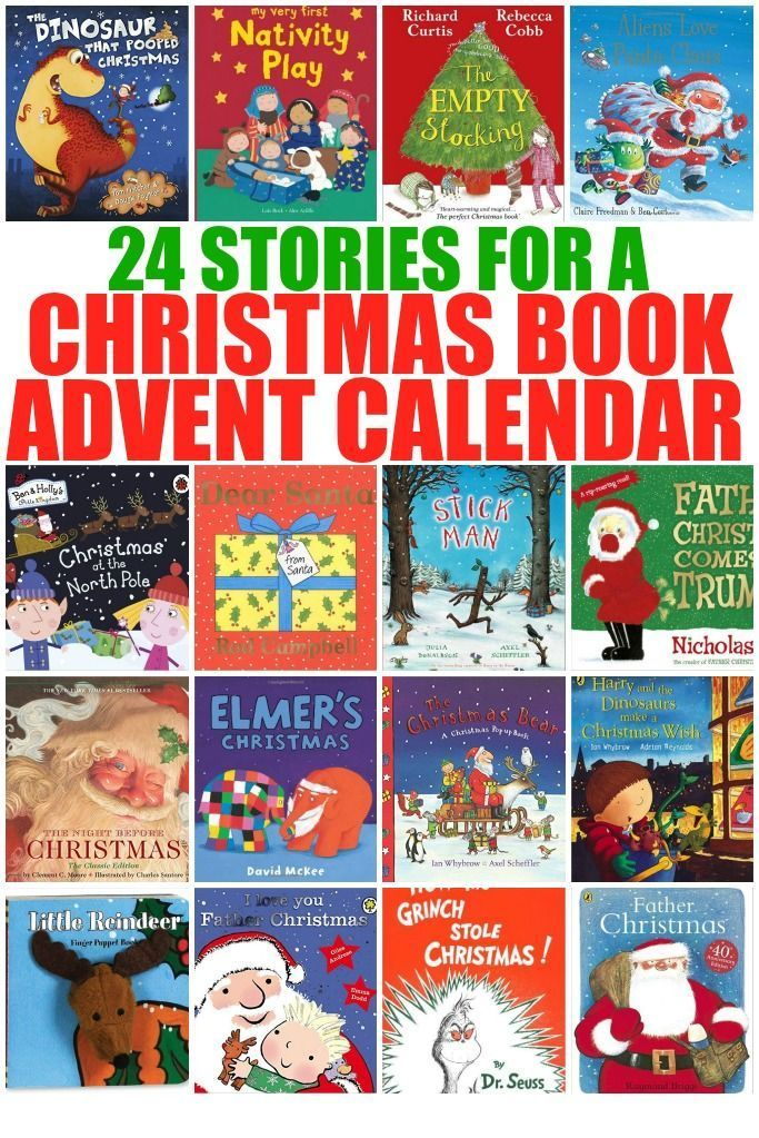 24 Stories for a Christmas Book Advent Calendar Advent