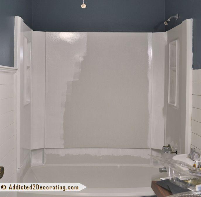 Bathroom Makeover Day 11 How To Paint A Bathtub How To Paint Bathtubs And Bathroom