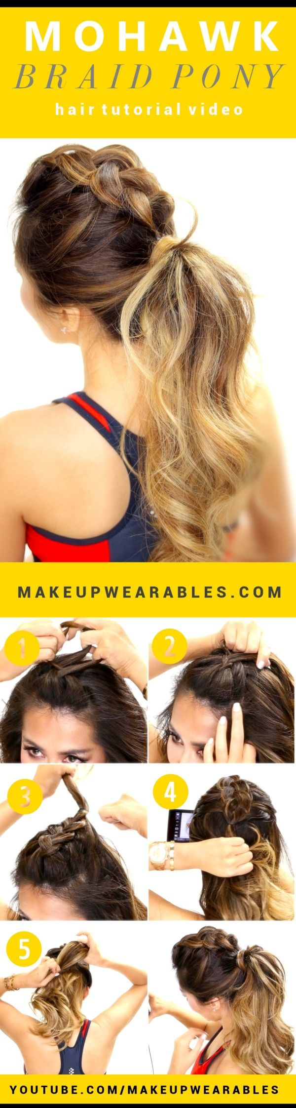 15 Spectacular DIY Hairstyle Ideas For a Busy Morning Made For Less Than 5 Minutes: