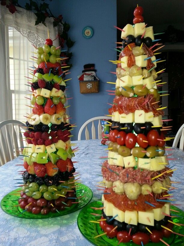 Appetizers for our family Christmas buffet. The kids liked