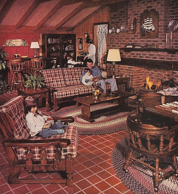 Furniture For The Home 1977 Sears Open Hearth Family