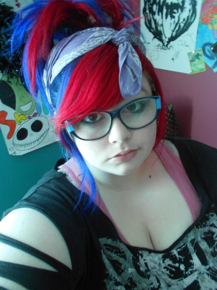 Splat Hair Color Multi Colored Hair Pinterest Colors
