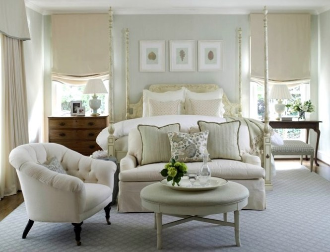 Luxe Design Tranquil Master Bedroom