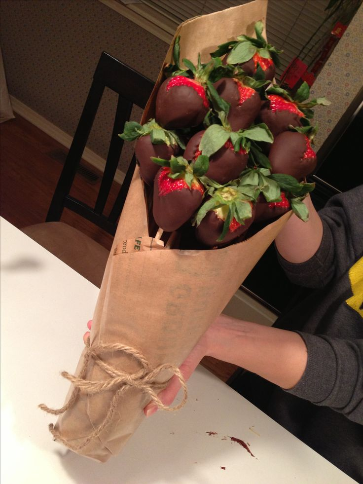 Valentines Day Strawberry Bouquet Good Eats