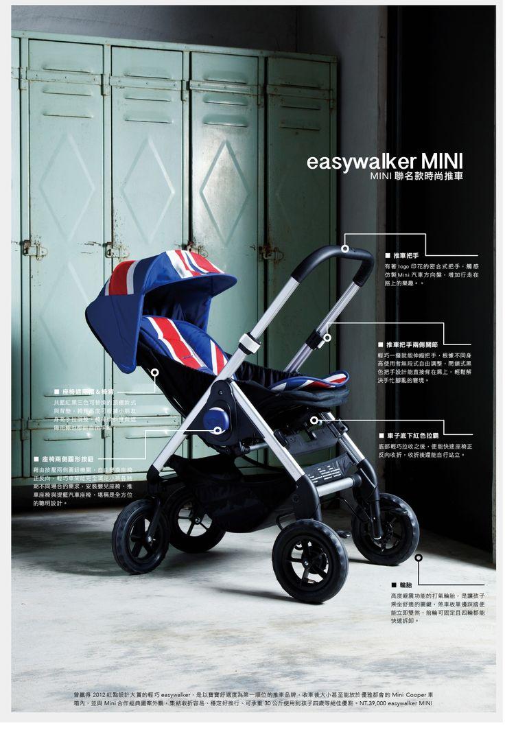 easywalker X MINI COOPER Stroller Pinterest