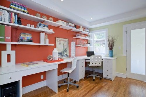 17 Best Ideas About Home Office Layouts On Pinterest