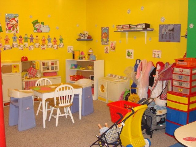 Dress Up And Kitchen Area @ My Home Childcare