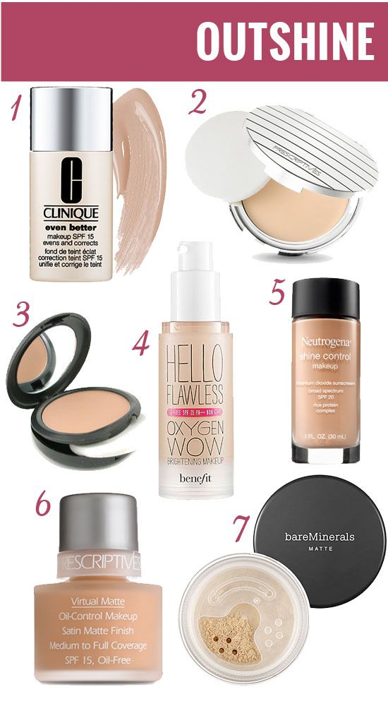 Foundations For Oily Skin PinQue Blog My Make Up