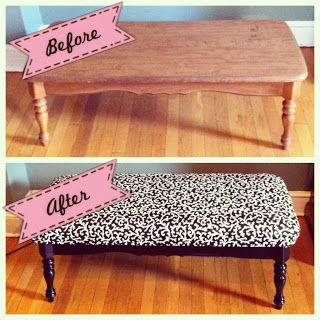 ive always wanted one of these for the end of the bed  Piper Riley: DIY Bench ou
